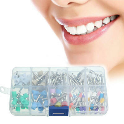 100Pcs Dental Prophy Brush Cup Polishing Polisher 10 Mixed Types Disposable sfd
