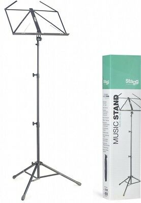 Stagg MUS-A4 Music Stand - Black