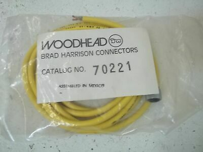 Woodhead 70221 Connector *New In A Bag*