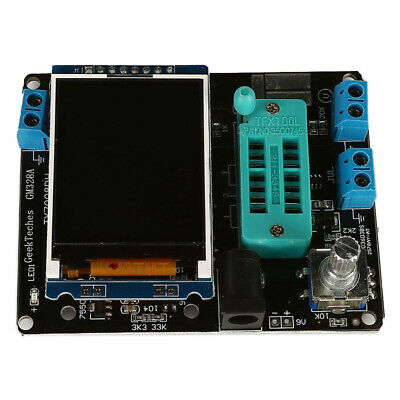 Transistor Tester Electronic Power 160*128 30mA Current PCB Resistance Meter