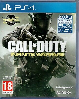 PS4 - Call of Duty: Infinite Warfare (SONY PlayStation 4, 2016) - COMPLETE