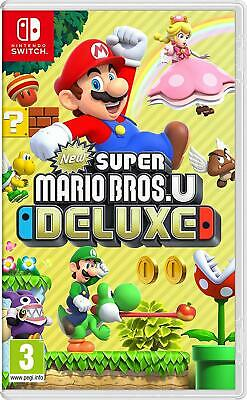 New Super Mario Bros U Deluxe Plate-forme Nintendo Switch Edition Standard