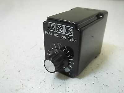 Pac 2P09210 Relay *Used*