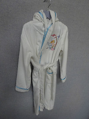 Disney Store Dressing Gown Tinkerbell - Age 7-8 - with hood