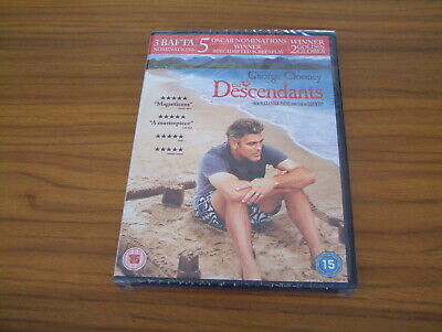 The Descendants - George Clooney - Shailene Woodley - Dvd - **New**