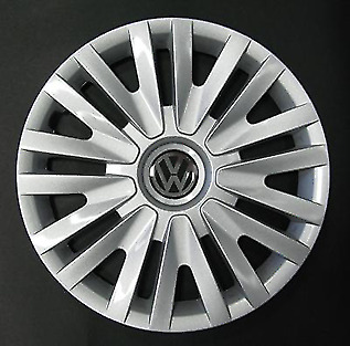 "Volkswagen Golf 6, 5, Polo 5 Style ONE 15"" Wheel Trim Hub Cap Cover 490"