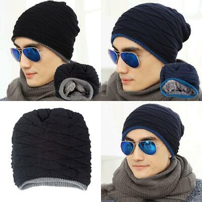 0d1967c838a SPIKERKING MEN S SOFT Lined Thick Knit Skull Cap Warm Winter Slouchy ...
