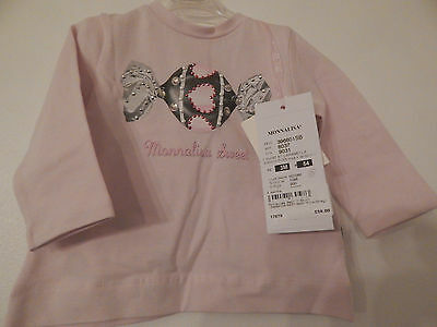 Bnwt Monnalisa Sweet Top Age 3 Months **Loads More Designers Listed**