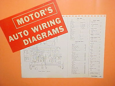 1961 1962 1963 1964 1965 Ford Falcon Futura Convertible Ranchero Wiring Diagrams