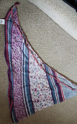 Marks and Spencer M&S Girls Pink Mix scarf - good condition check me out