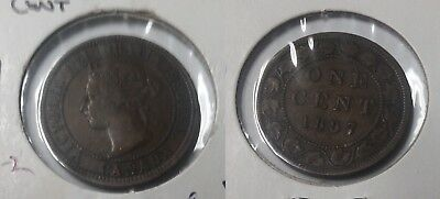 Canada 1887 Large Cent