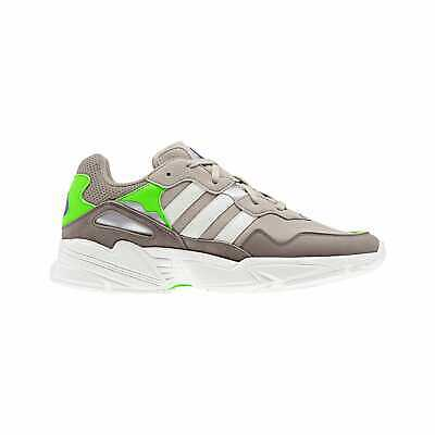 online retailer 79c74 2bbe8 adidas Originals Yung-96 - Men s Clear Brown Off White Solar Green F97182