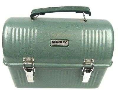 Stanley Steel Metal Green Hammertone Classic Dome Lunch Box Pail 10 QT 9.5L