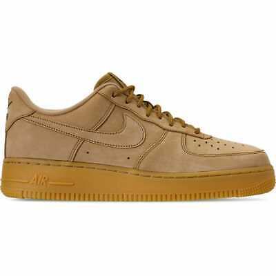 Nike Air Force 1 '07 Low Wheat Flax/Gum Light Brown/Outdoor Green AA4061 200