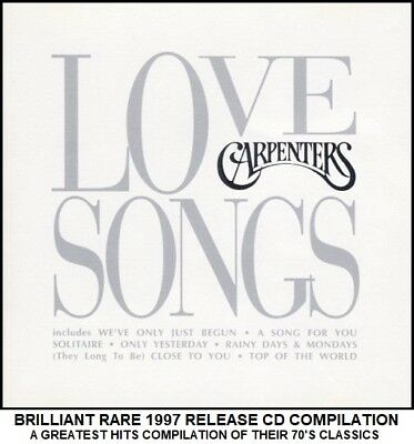 The Carpenters - Very Best 20 Greatest Hits Collection - RARE 1997 CD 70's Pop