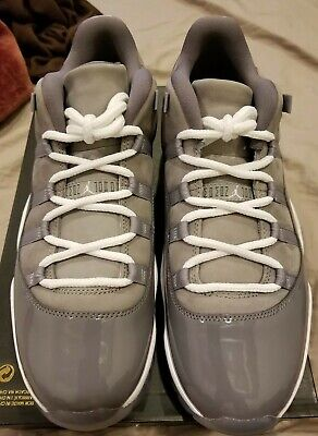 5102b0aa2c6c Nike Air Jordan 11 Retro Low Cool Grey 528895 003 Men s Size 12 B-Grade