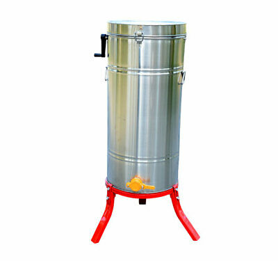 4 frame Stainless Steel Honey Extractor Beekeeping Bee Keeping With Cover