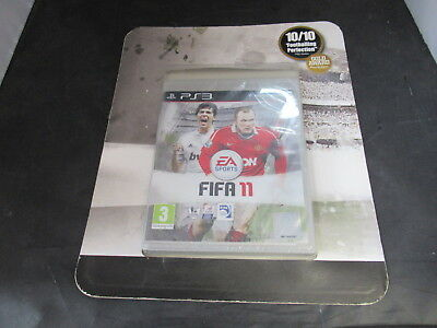 Sony Playstation 3 PS3 Fifa 11 Brand New Sealed in Sales Promo Display Packaging