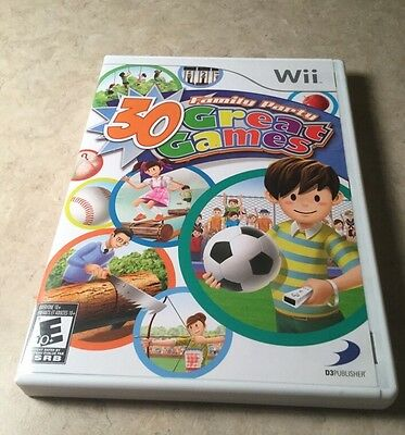 Family Party: 30 Great Games Outdoor Fun (Nintendo Wii, 2009)