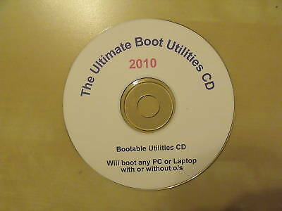 The Ultimate Boot Utilities CD 2010 Windows All