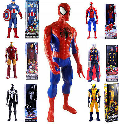 Marvel The Avengers Superheld Spiderman Action Figur Figuren Kinder Spielzeug A