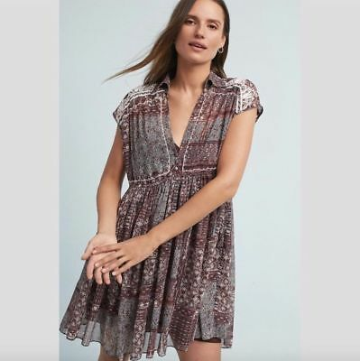 83c5c0182cc0 NWT ~ RANNA GILL Small Flavia Swing Dress with Separate Slip/Lining ...