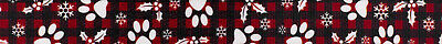 Country Brook Design® 5/8 Inch Christmas Plaid Polyester Webbing, 5 Yards