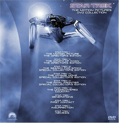 Star Trek - The Motion Pictures Collection (10 Films), Good DVD, Patrick Stewart