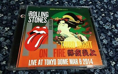 Rolling Stones / 2014 Japan 306 /Rare Live Import/ 2Cd / Silver