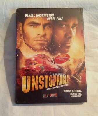 Unstoppable - Denzel Washington -   Dvd Neuf Sous Blister