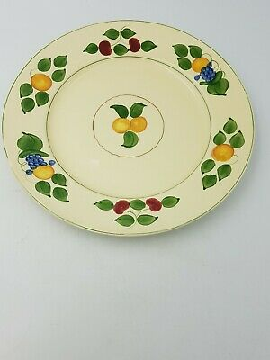 Pottery Adams Antique Stunning Adams Royal Ivory Titian Ware Extremely Rare Plate 1905.