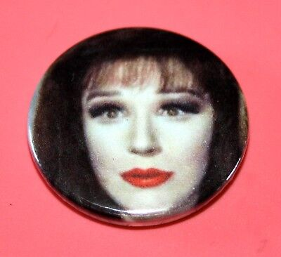 Fenella Fielding Obe Carry On Screaming Button Pin Badge