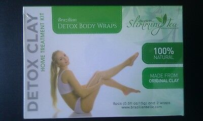 Detox Body Wrap - Lose Weight, Cellulite, Psoriasis, & Stretch Marks
