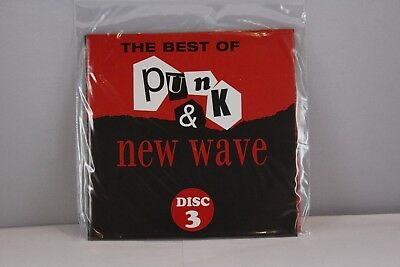The Best of Punk & New Wave -CD (Disc 3) Music Album 16 Tracks -Various Artistst