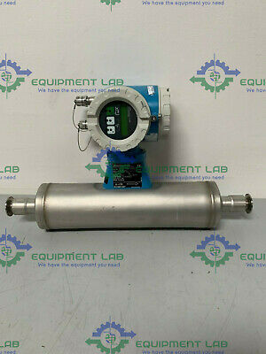 "Endress Hauser Promass 63IT25-FTH40A00B1A 1"" Triclamp Flowmeter"