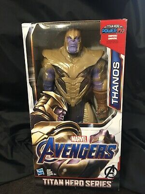 "TITAN HERO SERIES Marvel AVENGERS END GAME  THANOS 12"" FIGURE IN-HAND"