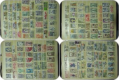 Great Collection of 1000 Czechoslovakian old post stamps - Czechoslovakia
