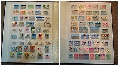 Amazing collection of old worldwide post stamps more then 700 + great album