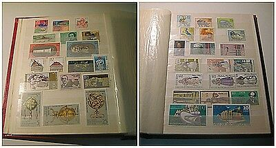 Amazing Collection Of Old Never Used Post Stamps From Germany DDR