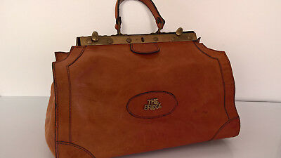 Arzttasche Ledertasche THE BRIDGE Weekender Luxustasche True vintage
