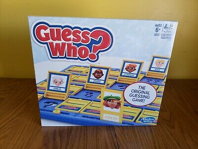 Guess Who? Classic Game New - Free Priority Mail Shipping
