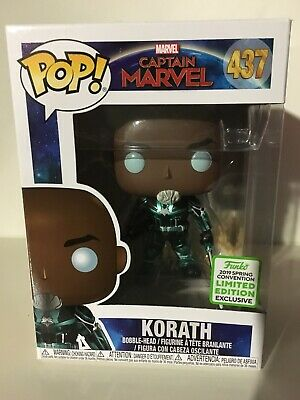 Funko Pop! Captain Marvel Korath #437 ECCC 2019 Shared Exclusive Limited Edition