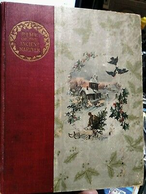 The Rime of the Ancient Mariner in 7 Parts Coleridge 1883  VERY RARE