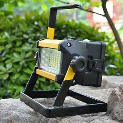 50W 36 LED Rechargeable  Portable Outdoor Camping Flood Light Spot Work Lamp