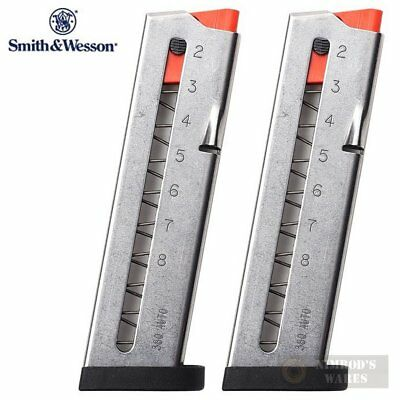 TWO S&W Smith & Wesson SHIELD 380 EZ MAGAZINES 8 Rounds 3008882 FAST SHIP