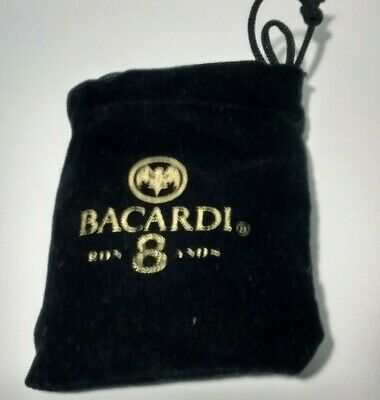 Vintage Bacardi Ron 8 Anos Rum Promo Cigar Cutter  With Pouch 1990s