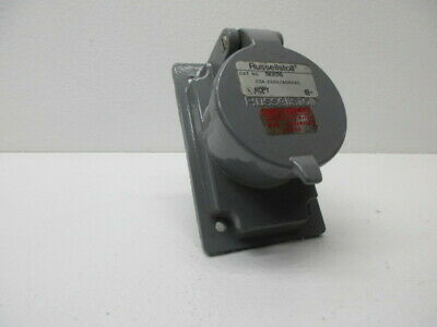 Russellstoll Skr5G Receptacle 20A 250V/600Vac * New No Box *