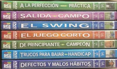 Golf Lecciones David Leadbetter 7 DVD