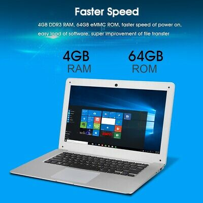 JUMPER EZbook2 14.1'' PC Notebook Windows10 4GB/ 64GB Laptop Tablet e ebook IT