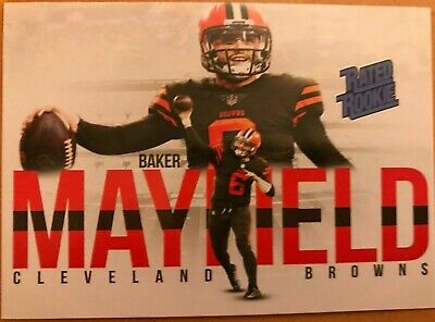 🔥  Baker Mayfield 2018 Rated Rookie Cleveland Browns